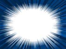 звезда рамки взрыва предпосылки Стоковая Фотография