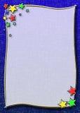 звезда рамки младенца Стоковое Фото