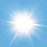 звезда рая взрыва Стоковое фото RF