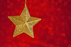 звезда рождества Стоковые Изображения RF