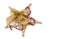 звезда рождества Стоковое Изображение