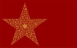звезда рождества Стоковая Фотография RF