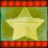 звезда рождества grungy иллюстрация штока