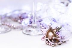 Звезда рождественской елки игрушки стоковые изображения