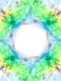 звезда силы рамки Стоковая Фотография RF