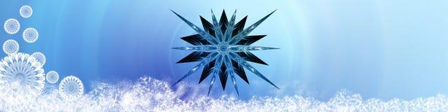 звезда снежинок снежка иллюстрация штока