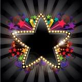 звезда сообщения Стоковые Изображения