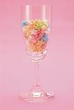 звезда стекла конфеты Стоковая Фотография