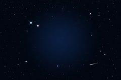 звезда стрельбы ночи звёздная Стоковые Фото