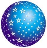 звезда сфер конструкции Стоковые Изображения