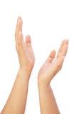 звезда удерживания руки Стоковая Фотография