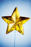 звезда украшения рождества стоковая фотография