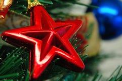 звезда украшения рождества Стоковые Изображения RF