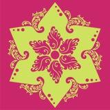 звезда цветка Стоковая Фотография