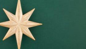 звезда части золота украшения рождества Стоковая Фотография RF