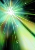 звезда burst2 Стоковое Изображение RF