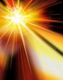 звезда burst3 Стоковая Фотография RF