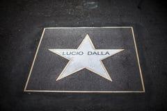 Звезда dalla Lucio стоковое изображение