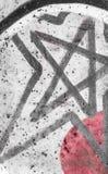 Звезда Grunge Стоковые Изображения