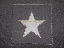 Звезда Henghel Gualdi джазового музыканта в болонья Стоковые Фотографии RF