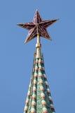 звезда kremlin Стоковые Фото