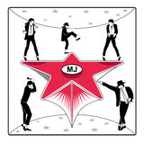 звезда mj s бесплатная иллюстрация