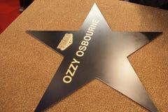 Звезда ` s Ozzy Osbourne личная в Москве 31 05 2018 Стоковые Фото