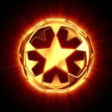 звезда shine шарика иллюстрация вектора