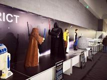 Звездные войны - нашествие выставки Lego Giants стоковая фотография rf
