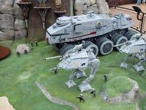звездные войны lego стоковое изображение