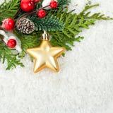 звезды абстрактной картины конструкции украшения рождества предпосылки темной красные белые рождество украшает идеи украшения све Стоковое Изображение