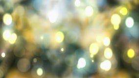 звезды абстрактной картины конструкции украшения рождества предпосылки темной красные белые сток-видео