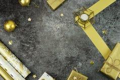 звезды абстрактной картины конструкции украшения рождества предпосылки темной красные белые творческий абстрактный состав украшен Стоковое фото RF
