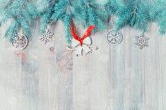 звезды абстрактной картины конструкции украшения рождества предпосылки темной красные белые Рождество забавляется, голубая ель на Стоковая Фотография RF