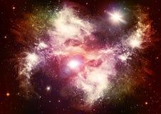 звезды галактик Стоковое Изображение