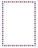 звезды граници Стоковое Изображение RF
