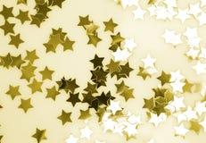 звезды золота Стоковые Изображения