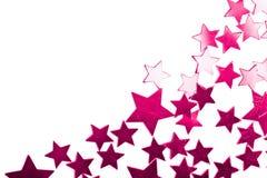 звезды изолированные праздником пурпуровые стоковая фотография