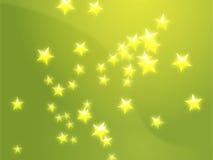 звезды иллюстрации летания иллюстрация вектора