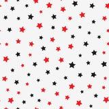 звезды картины безшовные Бесконечная печать бесплатная иллюстрация