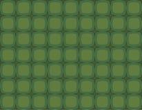 звезды квадратов рождества зеленые ретро Стоковые Фото