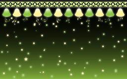 звезды колоколов маленькие Стоковая Фотография
