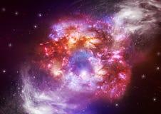 звезды космоса Стоковое Фото