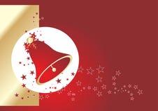 звезды красного цвета колокола стоковая фотография rf