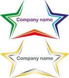 Звезды логотипа Стоковые Изображения RF