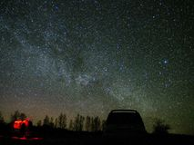 Звезды млечного пути и вселенной на ночном небе стоковое фото rf