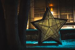 Звезды Москвы в muzeon парка Стоковая Фотография