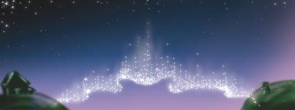 звезды моста Стоковая Фотография RF