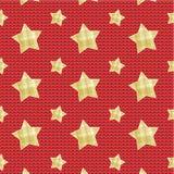 Звезды над связанной предпосылкой бесплатная иллюстрация