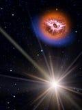 звезды неба кометы Стоковые Фотографии RF